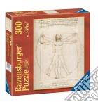 Ravensburger 14012 - Puzzle 300 Pz - Arte - Leonardo - Uomo Vitruviano puzzle