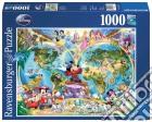 Ravensburger 15785 - Puzzle 1000 Pz - Fantasy - Mappamondo Disney puzzle