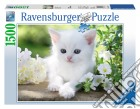 Ravensburger 16243 - Puzzle 1500 Pz - Gattino Bianco puzzle