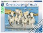Ravensburger 16285 - Puzzle 1500 Pz - Galoppata Sul Bagnasciuga puzzle