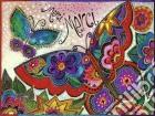 Ravensburger 16332 - Puzzle 1500 Pz - Laurel Burch - Farfalle Colorate puzzle