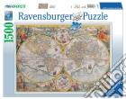Ravensburger 16381 - Puzzle 1500 Pz - Mappamondo Storico puzzle