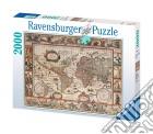 Ravensburger 16633 - Puzzle 2000 Pz - Mappamondo 1650 puzzle