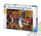 Puzzle 5000 pz - brueghel: nozze contadine puzzle