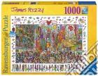 Ravensburger 19069 - Puzzle 1000 Pz - Fantasy - James Rizzi - Times Square puzzle