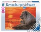 Puzzle 1000 pz - tramonto africano puzzle