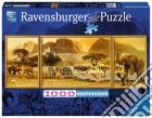 Ravensburger 19375 - Puzzle 1000 Pz - Panorama - Trittico - Viaggio In Africa puzzle