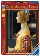 Ravensburger 19421 - Puzzle 1000 Pz - Arte - Domenico Ghirlandaio - Ritratto Di Giovanna Tornabuoni puzzle