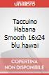 Taccuino Habana Smooth 16x24 blu hawai scrittura