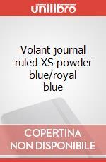 Volant journal ruled XS powder blue/royal blue articolo per la scrittura