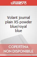 Volant journal plain XS powder blue/royal blue articolo per la scrittura