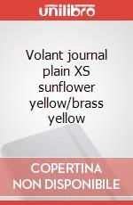 Volant journal plain XS sunflower yellow/brass yellow articolo per la scrittura