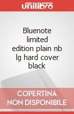 Bluenote limited edition plain nb lg hard cover black articolo per la scrittura