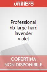 Professional nb large hard lavender violet articolo per la scrittura