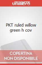 PKT ruled willow green h cov articolo per la scrittura
