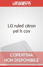LG ruled citron yel h cov articolo per la scrittura