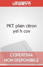 PKT plain citron yel h cov articolo per la scrittura