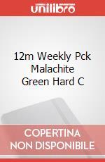 12m Weekly Pck Malachite Green Hard C articolo per la scrittura
