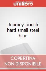 Journey pouch hard small steel blue articolo per la scrittura