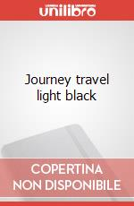 Journey travel light black articolo per la scrittura