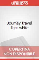 Journey travel light white articolo per la scrittura