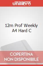 12m Prof Weekly A4 Hard C articolo per la scrittura