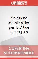 Moleskine classic roller pen 0.7 tide green plus articolo per la scrittura