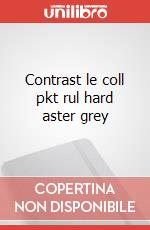 Contrast le coll pkt rul hard aster grey articolo per la scrittura