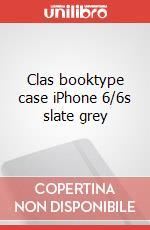 Clas booktype case iPhone 6/6s slate grey articolo per la scrittura