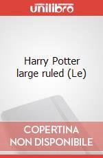 Le Harry Potter large ruled articolo per la scrittura