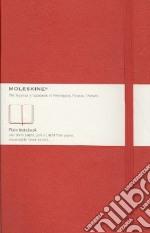 Taccuino Moleskine ROSSO A PAGINE BIANCHE - LARGE articolo per la scrittura