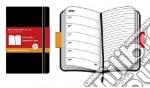 Moleskine Agenda 18 mesi 2009/2010 - POCKET Weekly Soft Black articolo per la scrittura