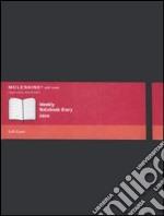 Agenda 2010 Moleskine Settimanale EXTRALARGE NOTEBOOK - Copertina Morbida Nera  articolo per la scrittura