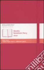 Agenda Moleskine 2010 Settimanale LARGE NOTEBOOK - Copertina Rigida ROSSA articolo per la scrittura