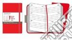 Agenda Moleskine Settimanale - TWIN SET ROSSO articolo per la scrittura