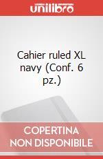 Cahier ruled XL navy (Conf. 6 pz.) articolo per la scrittura di Moleskine