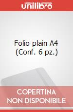 Folio plain A4 (Conf. 6 pz.) articolo per la scrittura di Moleskine