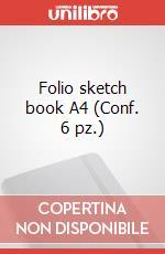 Folio sketch book A4 (Conf. 6 pz.) articolo per la scrittura di Moleskine