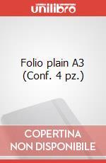 Folio plain A3 (Conf. 4 pz.) articolo per la scrittura di Moleskine