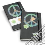 Moleskine WOODSTOCK LIMITED EDITION - Notebook PAGINE BIANCHE for PEACE articolo per la scrittura
