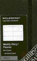 Agenda Moleskine 2011 - SETTIMANALE EXTRA SMALL Copertina Rigida Nera articolo per la scrittura