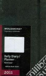 Agenda Moleskine 2011 - GIORNALIERA LARGE Copertina Rigida Nera articolo per la scrittura