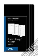 Agenda Moleskine 2011 - PROJECT PLANNER POCKET Copertina Morbida Nera articolo per la scrittura