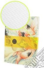 Set 2 Quaderni A Quadretti COVER ART Journal - Copertina Benjamin Barrios articolo per la scrittura