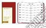 Moleskine Agenda 2012 CAHIER Planner Settimanale - Pocket, colore Terracotta articolo per la scrittura