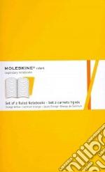 Golden yellow plain volant notebooks L articolo per la scrittura