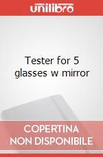 Tester for 5 glasses w mirror articolo per la scrittura di Moleskine