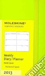 Weekly horizontal planner XS. Light green cover articolo per la scrittura