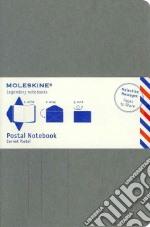 Postal notebook. L light grey articolo per la scrittura