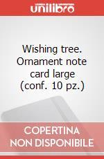 Wishing tree-. Ornament note card large (conf. 10 pz.) articolo per la scrittura di Moleskine